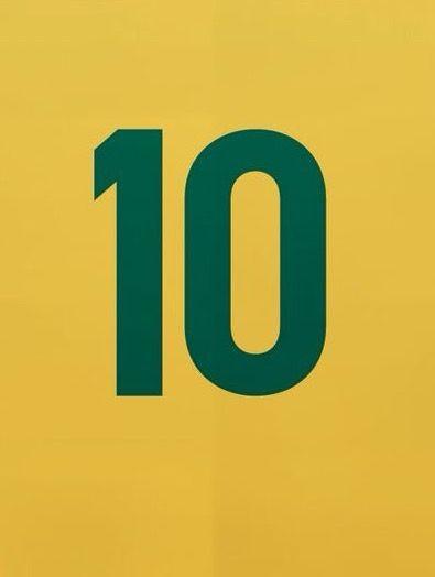 Pele Number 10 Shirt Of Brazil Wallpaper Brazil Wallpaper