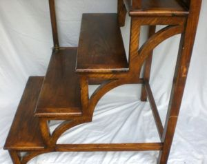 Folding Library Ladder And Chair Kit