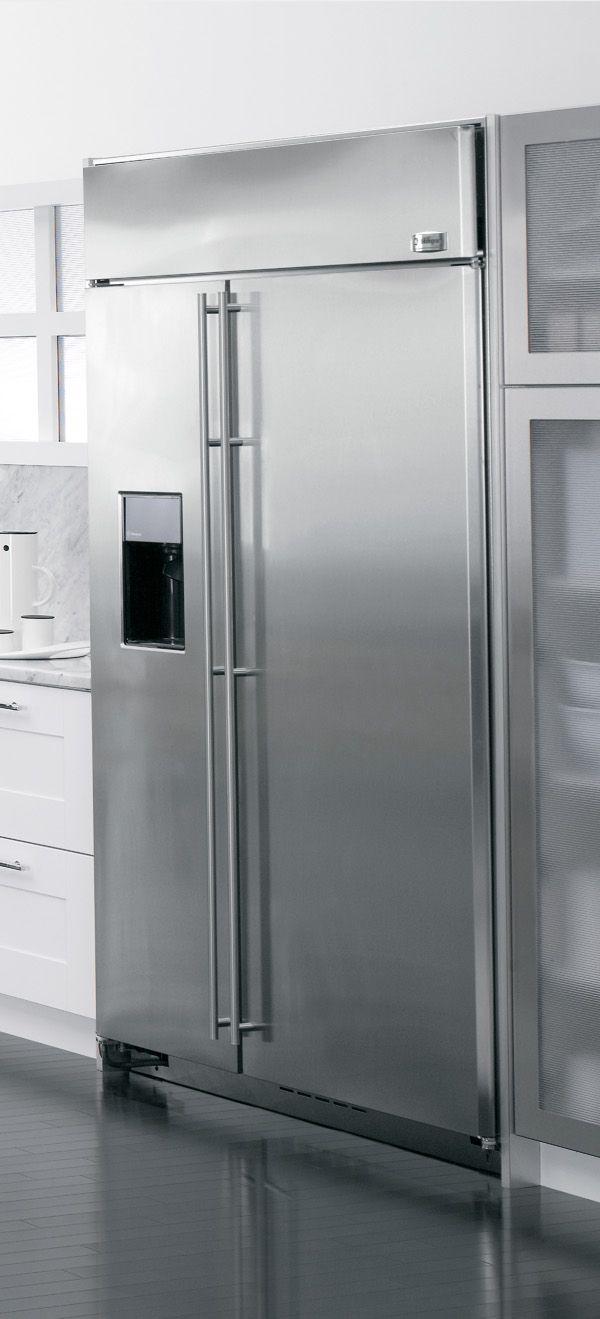 GE Monogram ZISS480DSS  奇異嵌入式對開冰箱