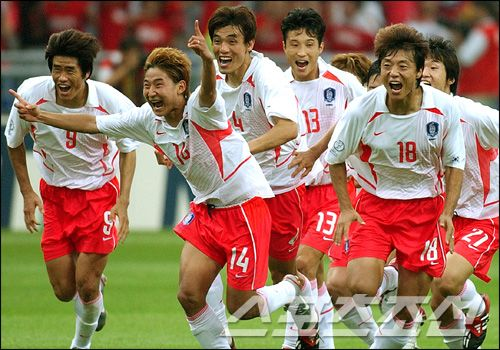 When I Was 15 2002 World Cup Was Held In Korea It Was Amazing Because South Korea Advanced To The Semi Finals Before Semi Final Korea Had Football Games Str