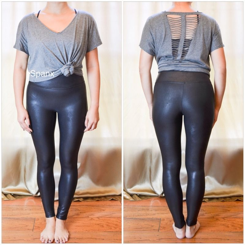 d86c1fd81b28f Spanx Faux Leather Leggings review | Things to Wear in 2019 | Spanx ...