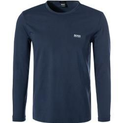 Photo of Boss men's long-sleeved shirt, regular fit, cotton, navy blue Hugo Bosshugo Boss