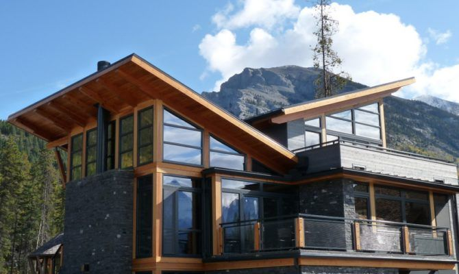 Modern Mountain Homes Plans Also Modern House Plans Home Building Design Modern Mountain Home