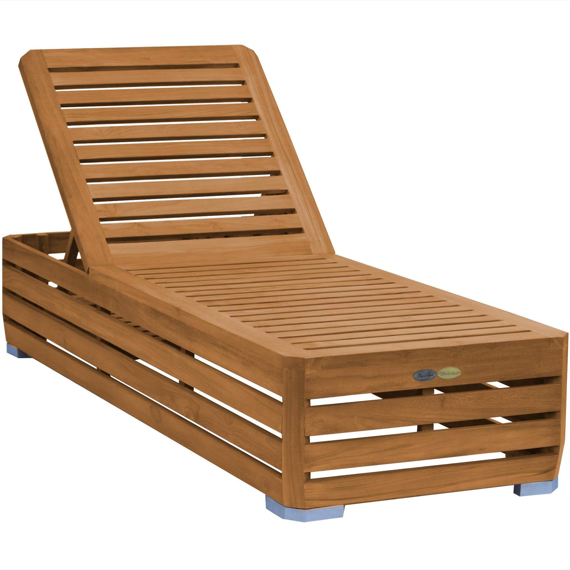 Teako Design Gartenliege Picardie Teak Unbehandeltes Massivholz Wetterfest Sonnenliege Teakholz Holzliege Relaxliege Amazon De Holzliege Relaxliege Teak Holz