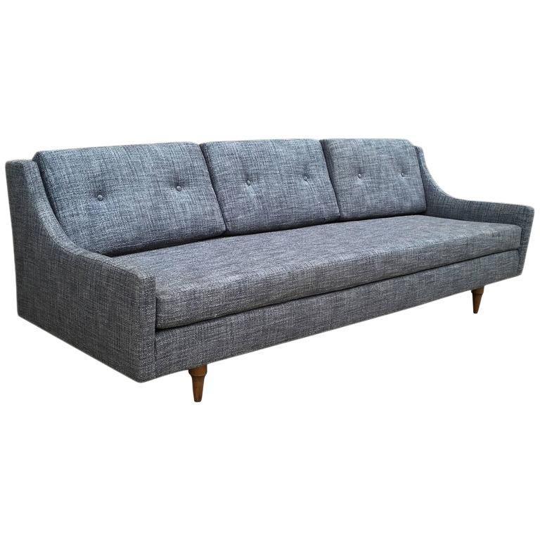 Selig Danish Modern Upholstered Sofa Upholstered Sofa Danish