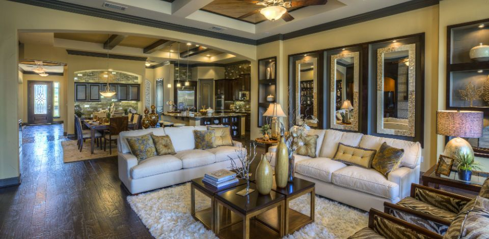 Model home furniture austin