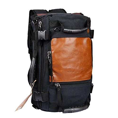218e24f9a8 OXA Vintage Canvas Backpack Laptop Bag Computer Bag + Travel