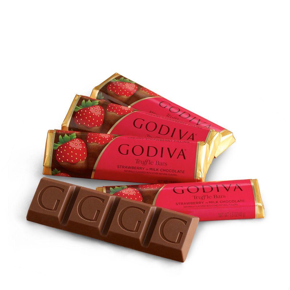 Small Milk Chocolate Strawberry Truffle Bars My Fav Guilty Pleasure W A Glass Of Wine Strawberry Truffle Godiva Chocolatier Godiva Chocolate