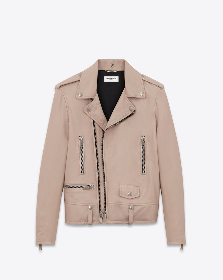 hot sale online 4a2eb 57c10 Saint Laurent Leather Jacket: discover the selection and ...
