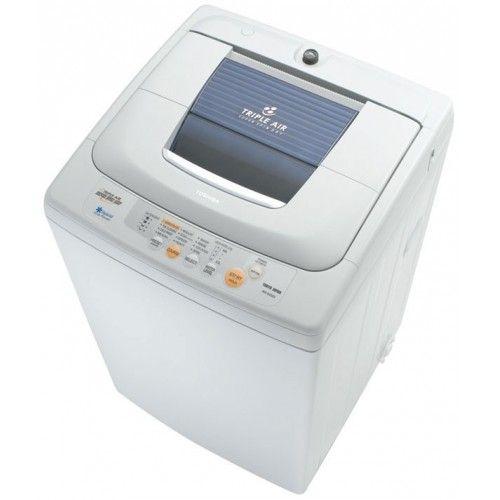 غسالة ملابس توشيبا 8 كيلو من فوق أتوماتيك بالطلمبة Aew 8460sp Washers Dryers Washing Machine Washer