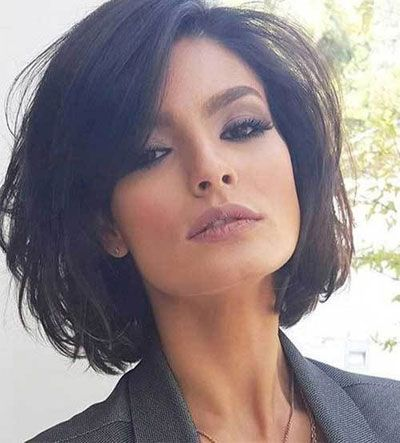 50 Hairstyles For Thin Hair Over 50 Bob Haircut Ms Full Hair Thick Hair Styles Thin Fine Hair Hair Styles 2016
