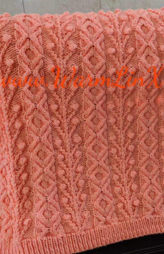 Baby Blanket Knitting Patterns | Strickmuster, Häkelmuster und Stricken