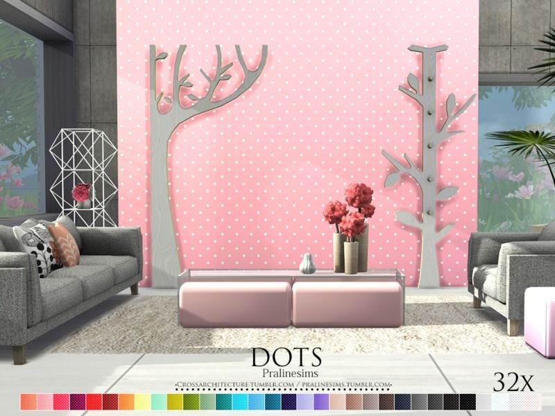 By Pralinesims Found in TSR Category \'Sims 4 Walls\' | sims 4 walls ...