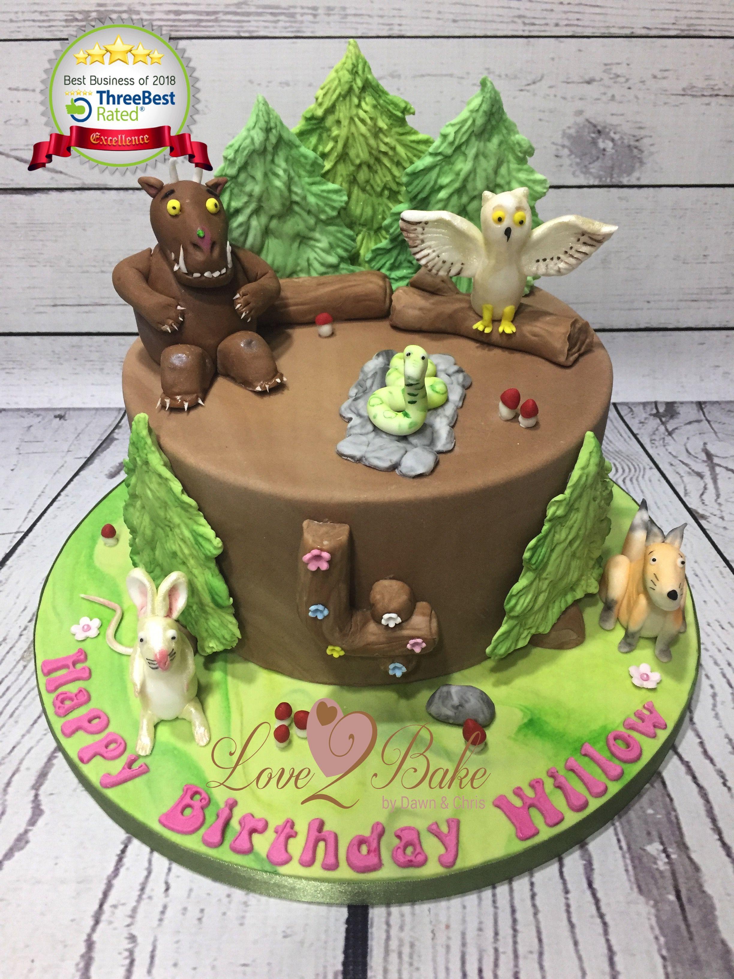 Gruffalo Cake By Love2bake Feb 2018 Love2bake Cakes Pinterest