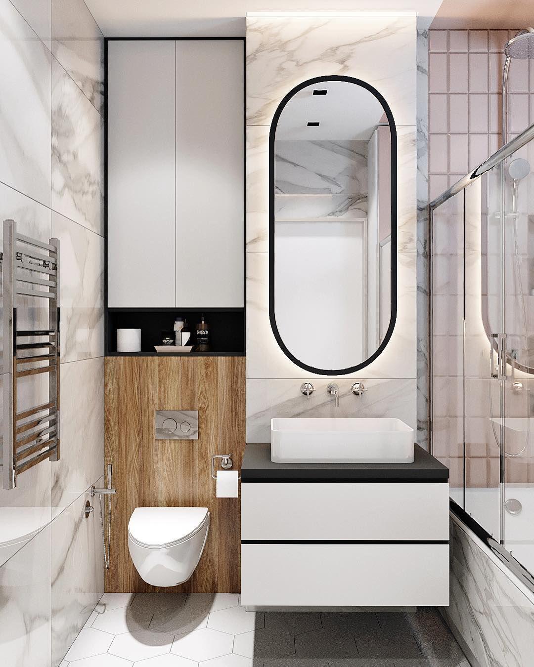 Russian Contemporary Apartment With Boca Do Lobo By Ekaterina Lashmano Contemporary Apartment Bronze Furniture Round Mirror Bathroom