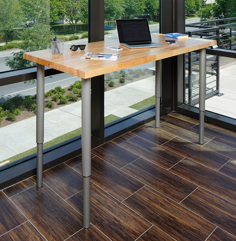 The First Adjustable, Customizable Electric Desk At An