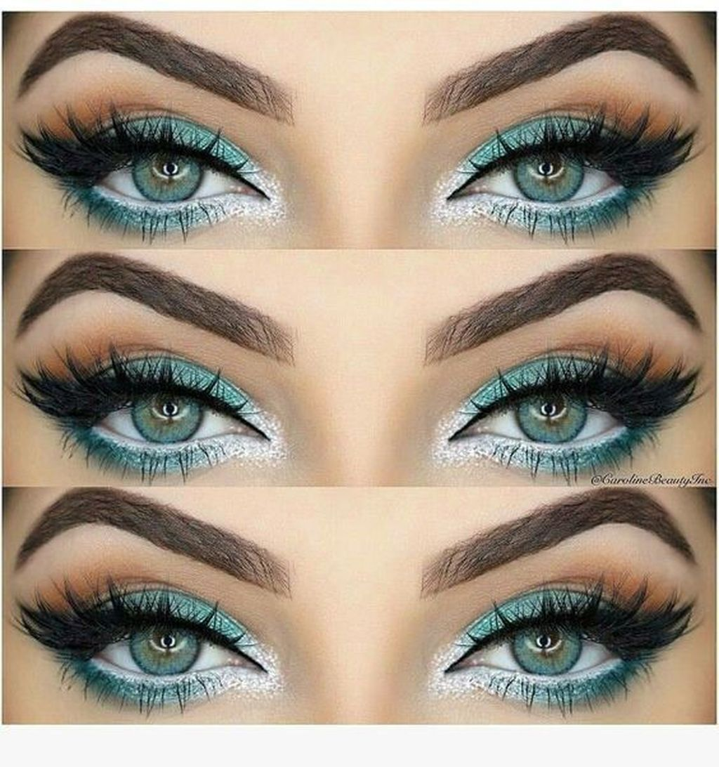 30+ Classy Eye Makeup Ideas For Green Eyes That Looks Cool ...