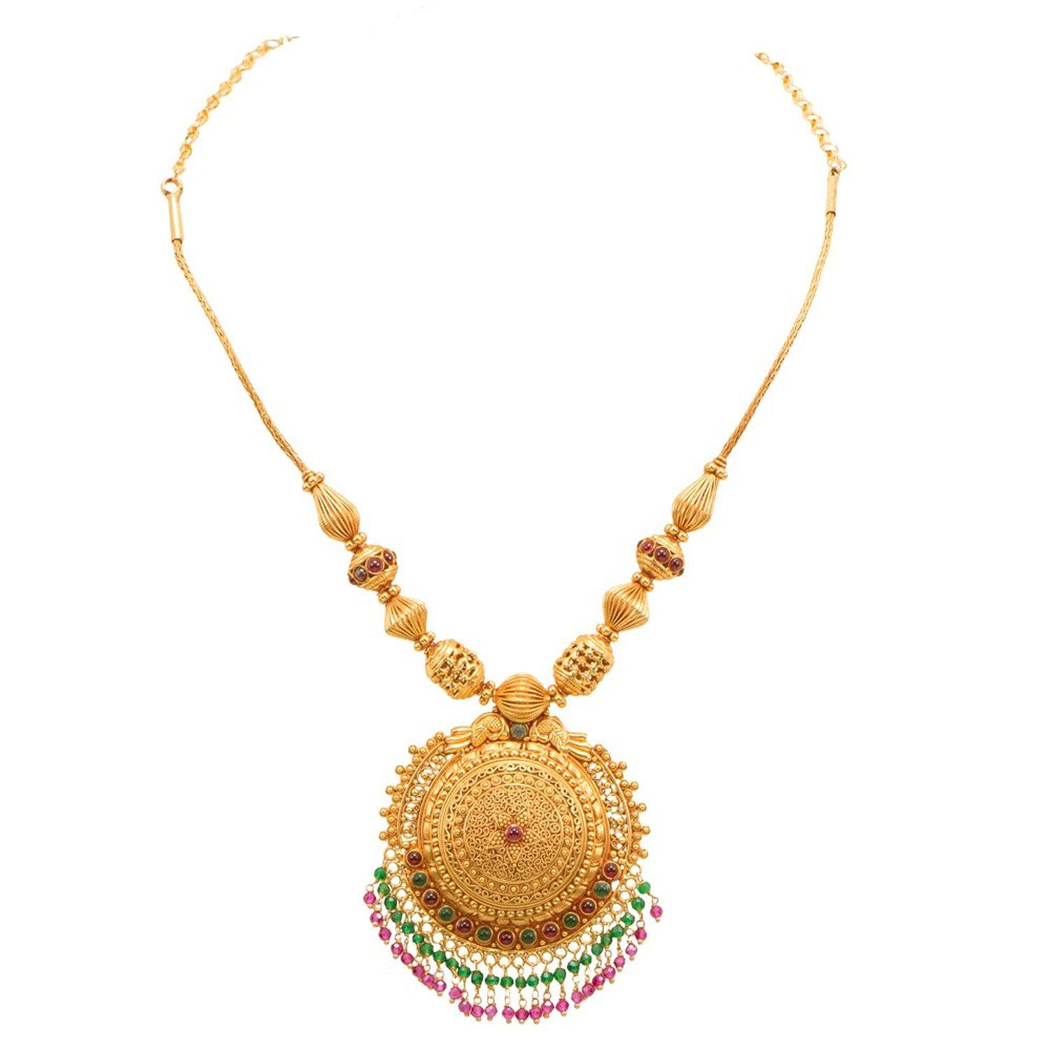 Buy Joyalukkas 22k Gold Necklace Online At Low Prices In