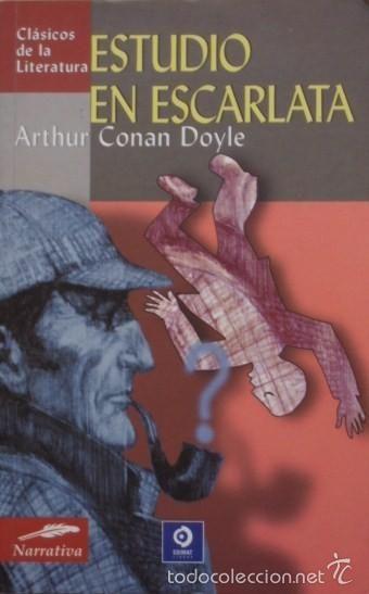 Estudio En Escarlata Arthur Conan Doyle Edimat Libros Reseñas De Libros Portadas De Libros Libros De Terror