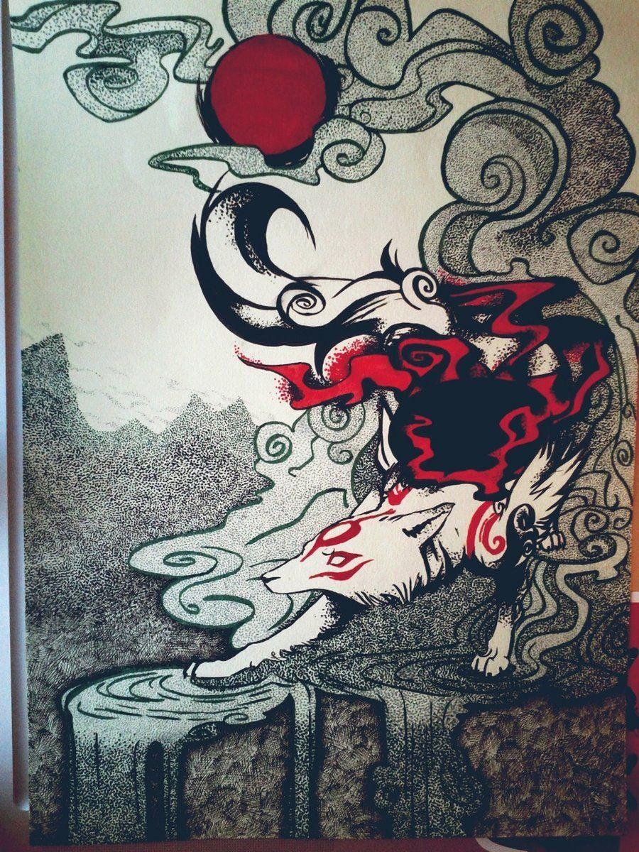 Amaterasu by purpurrpurrr.deviantart.com