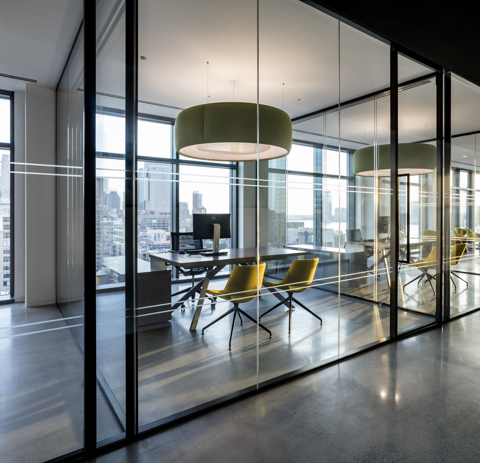 Biotronik office by ted moudis associates office for Office design open concept