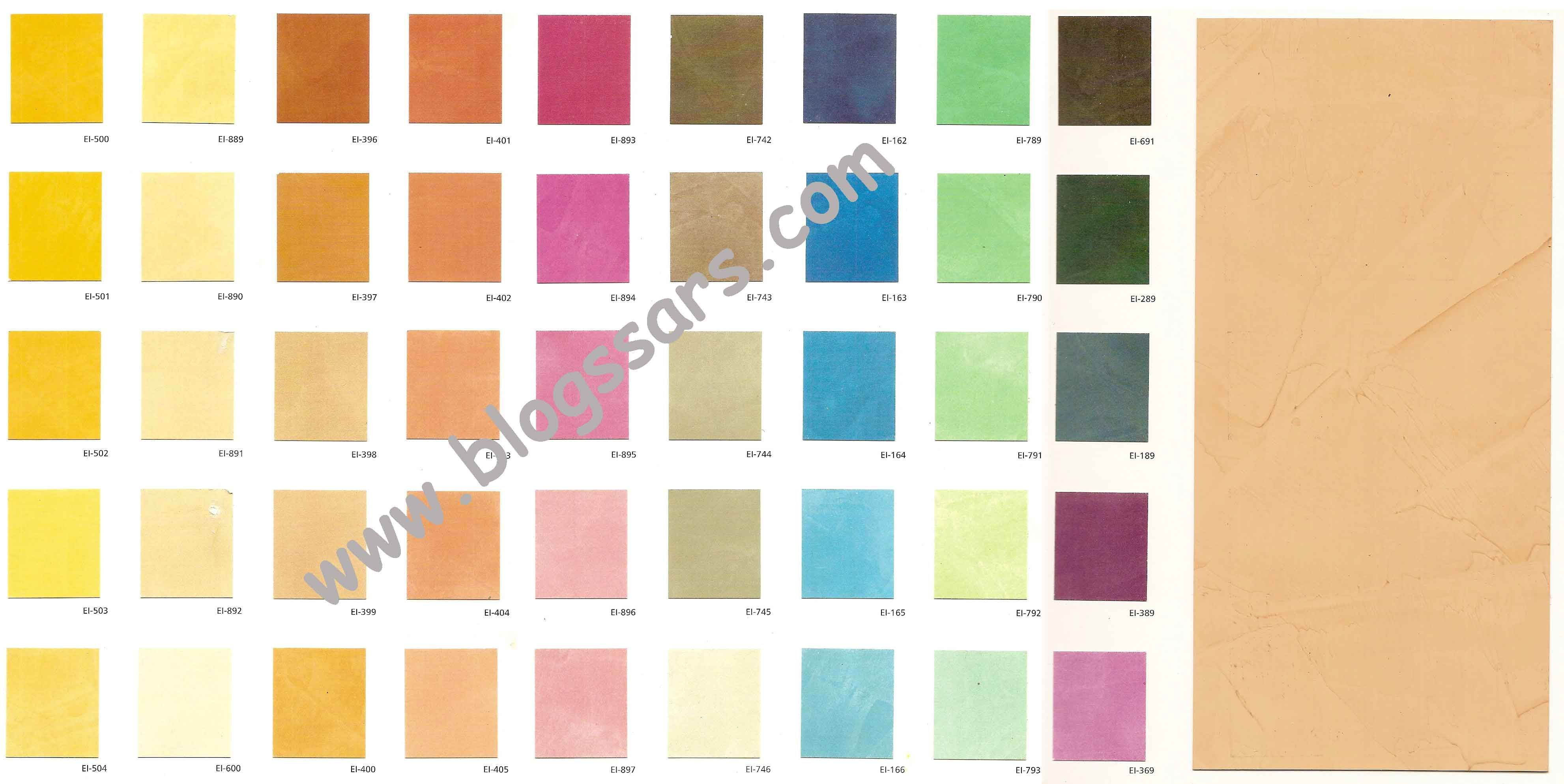 Carta de colores estuco colores pinterest estucos for Catalogo colores pintura pared