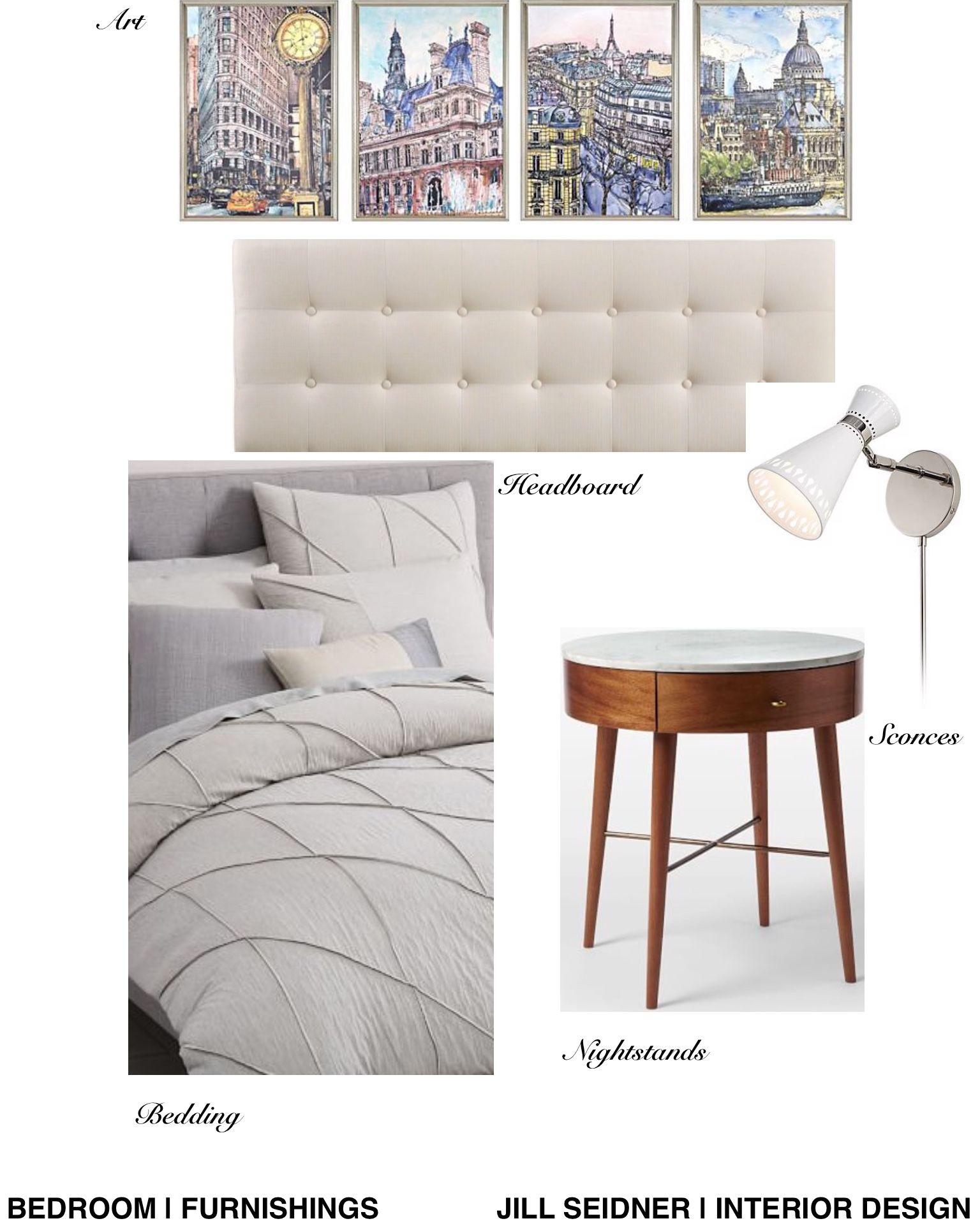 torrance ca residence guest bedroom furnishings concept board rh pinterest com