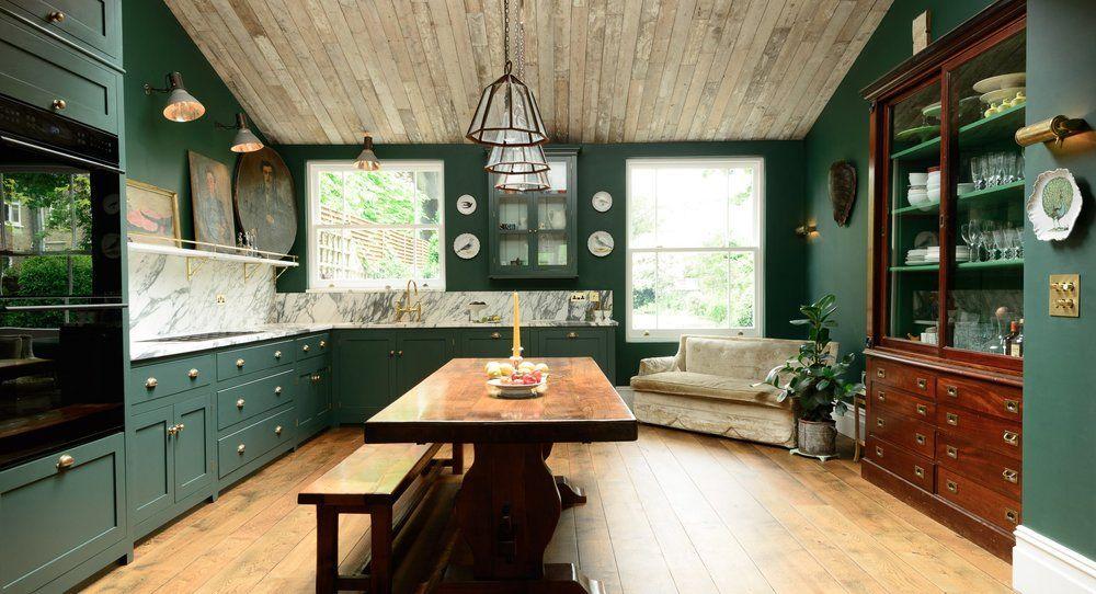 Current Obsession: Dark Green Kitchens — Margot Austin ...