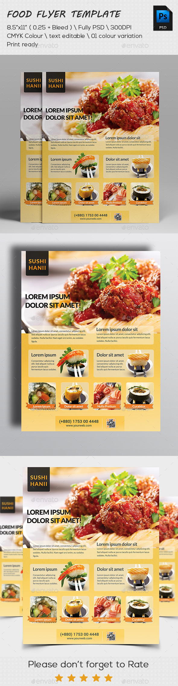 Restaurant Flyers Templates Restaurant Flyer Template 56