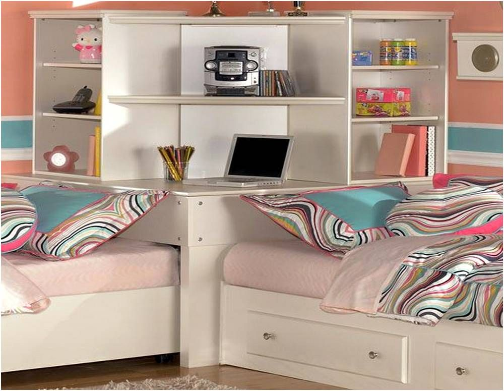Twin Bed Corner Unit Sets Diseño de cama, Camas, Habitacion
