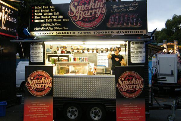 smokin barry 39 s a smokin success food trucks and american. Black Bedroom Furniture Sets. Home Design Ideas