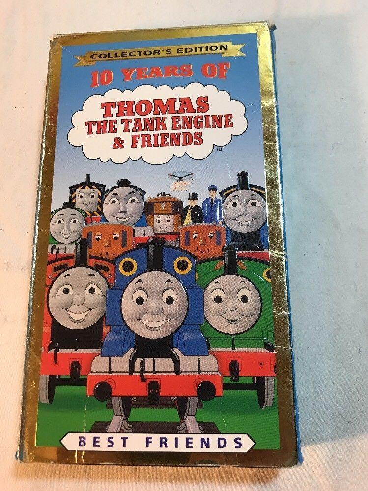 Thomas Christmas Wonderland Vhs.10 Years Of Thomas Friends Best Friends Vhs Tank Engine