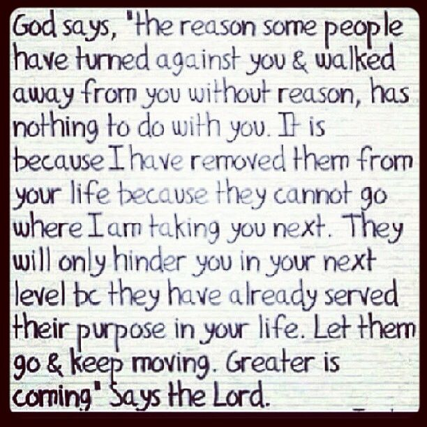 Great saying for a person dealing with a break up or divorce