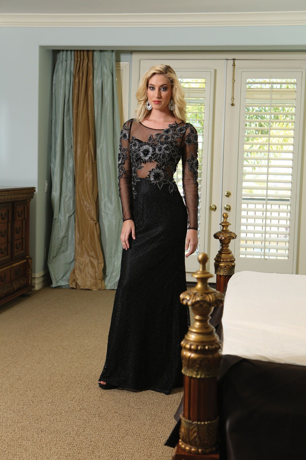 Thedressoutlet homecoming elegant applique rhinestone plus size