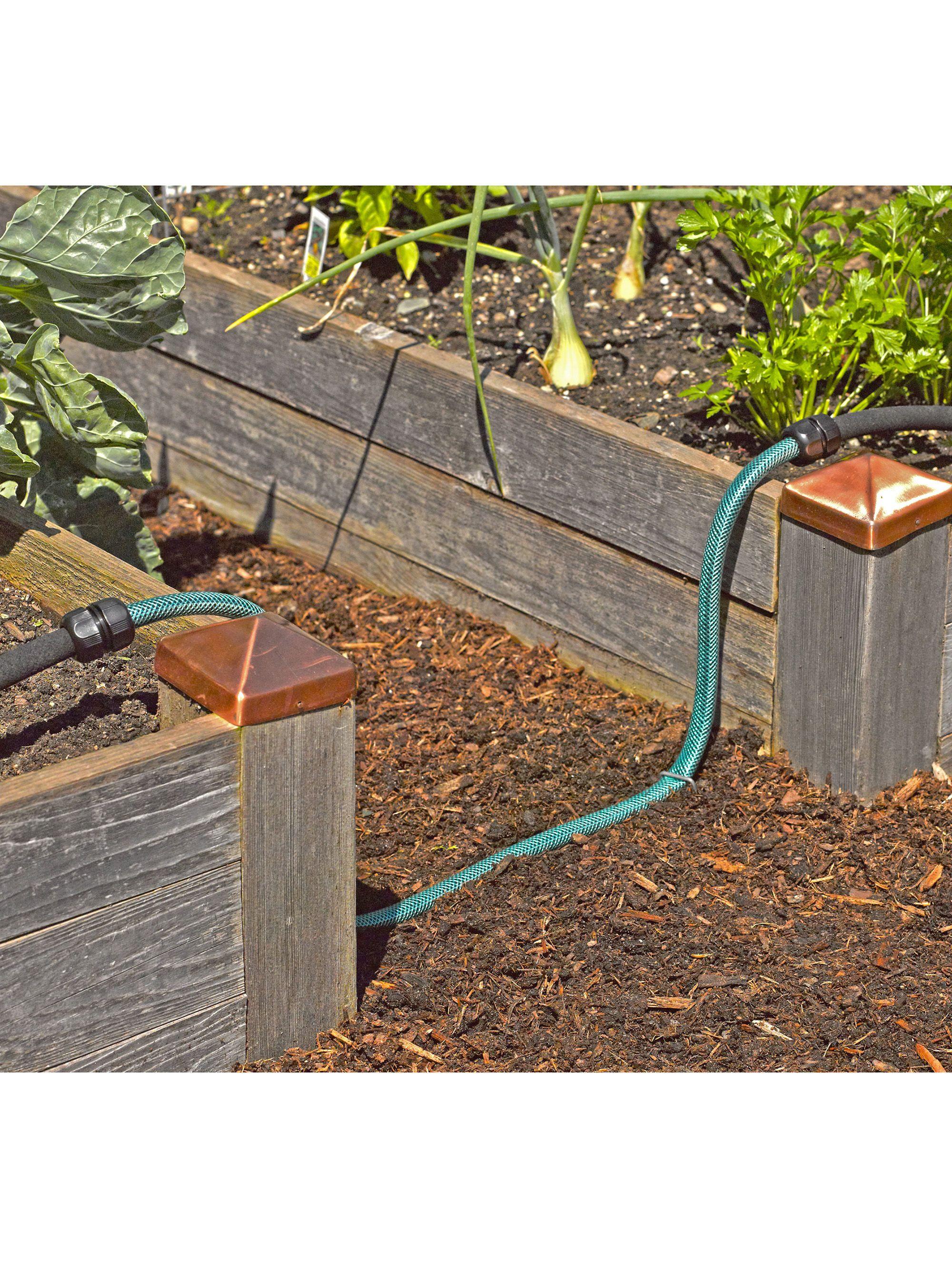 Above Ground Irrigation Systems for Landscaping   DIY Sprinkler ...