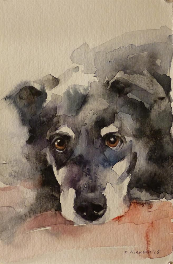 Katya Minkina WATERCOLOR | Art - Dogs | Watercolor art ...