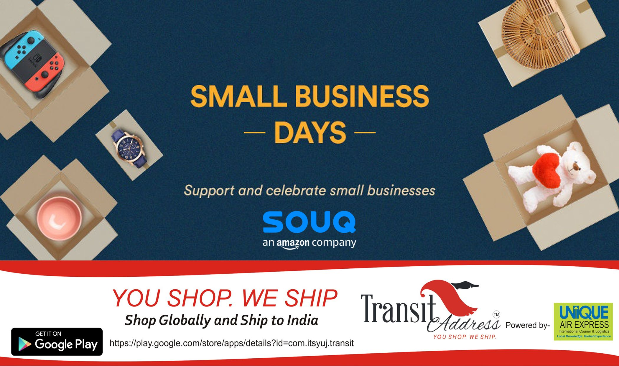 Small Business Days Starts Now! Support and Celebrate Small