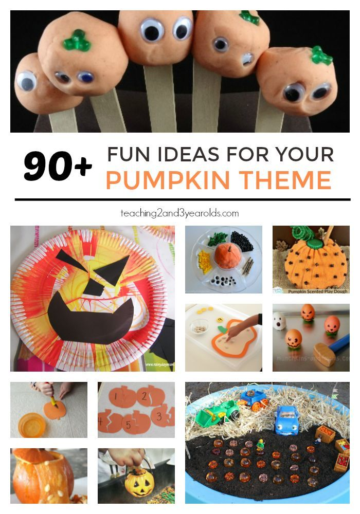 The Ultimate Guide To Pumpkin Theme Activities Autumn