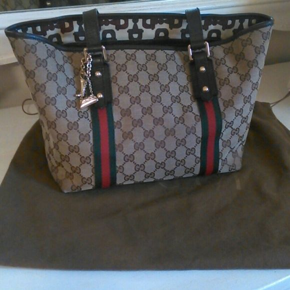 100 Authentic Gucci Handbag With Some Minor Flaws Bags Shoulder