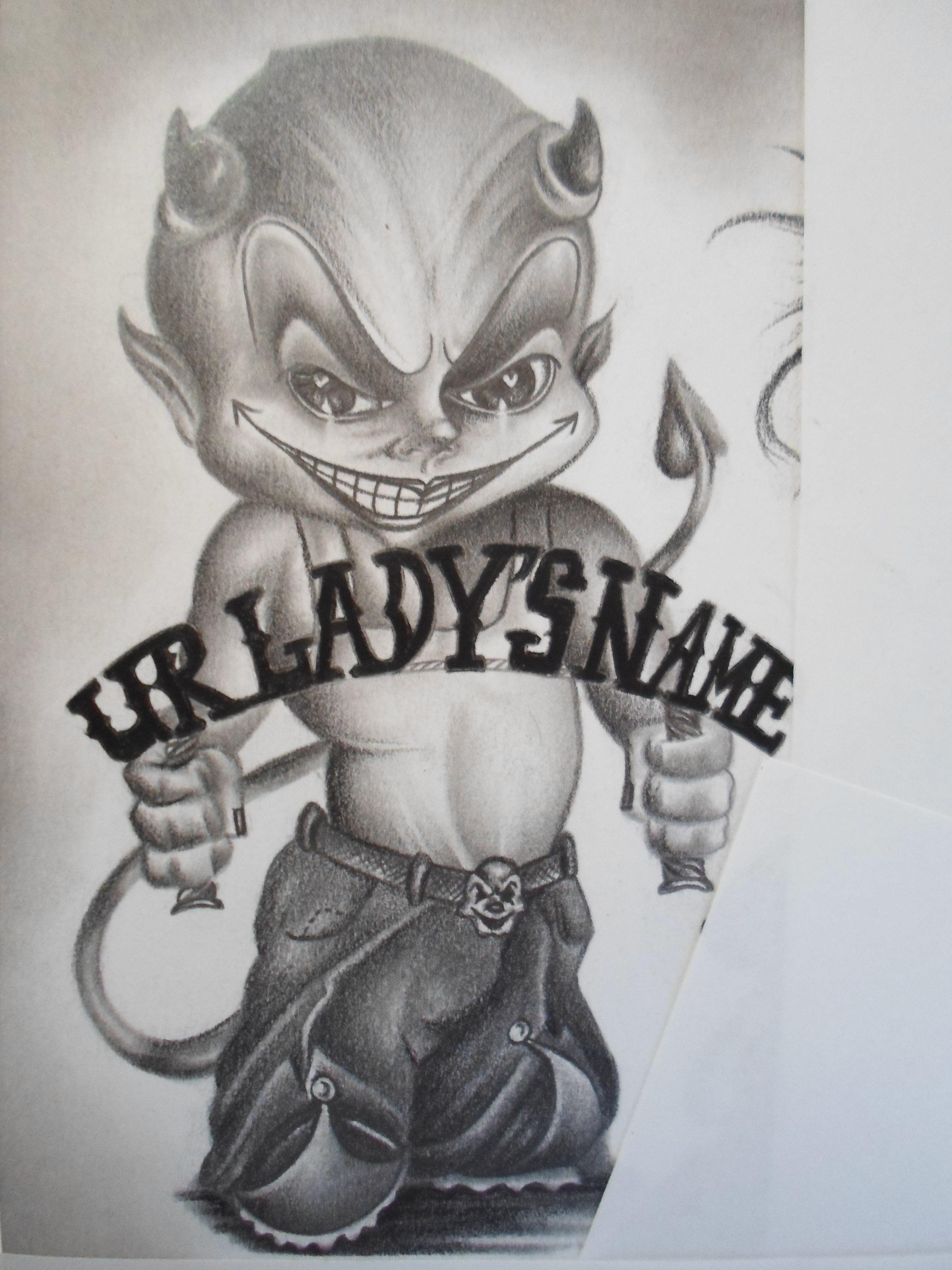 lowrider arte chicano art clowns jokers devils cool