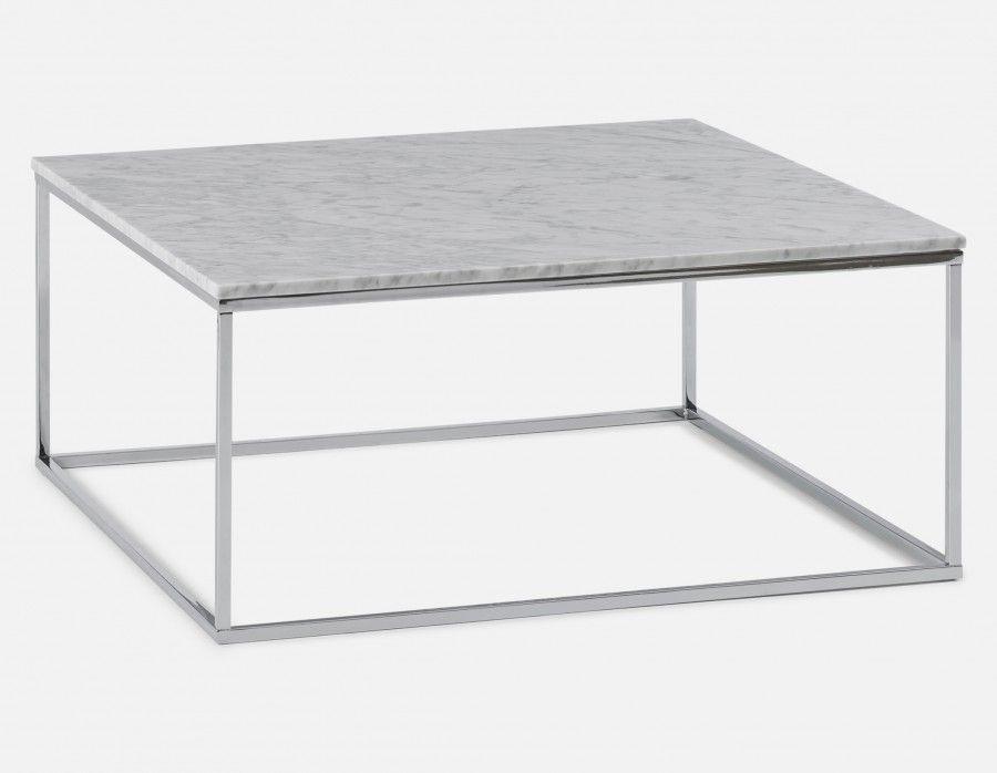 leonardo marble coffee table white