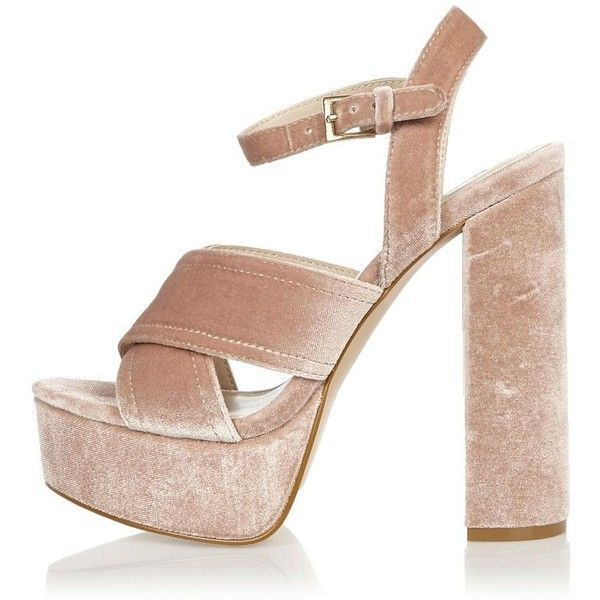 River Island Womens cross strap wedge sandals 7mNBk
