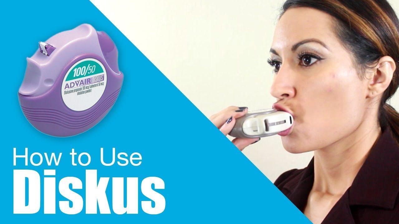 How To Use Diskus Inhaler Youtube Inhaler Asthma Inhaler Asthma Remedies