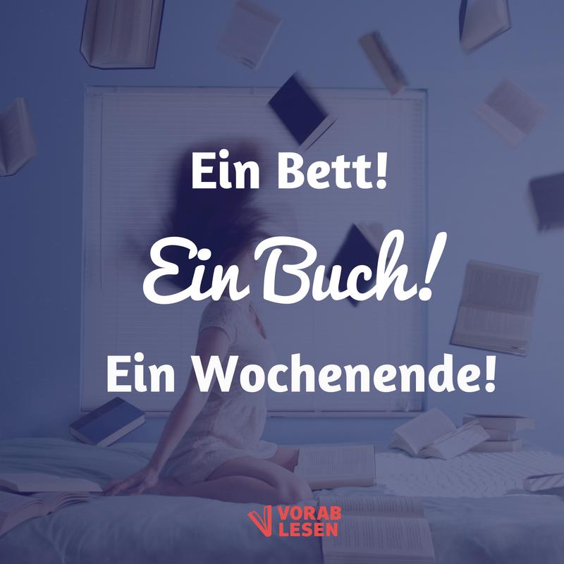 Wir wünschen euch ein lesereiches Wochenende! #Lesen #booklove