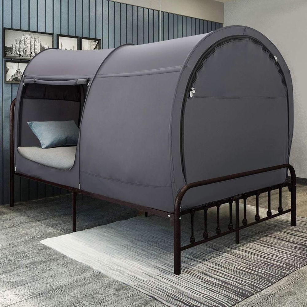 Charcoal Bed Tent Bunk Twin/Full/Queen Size for Girls/boys
