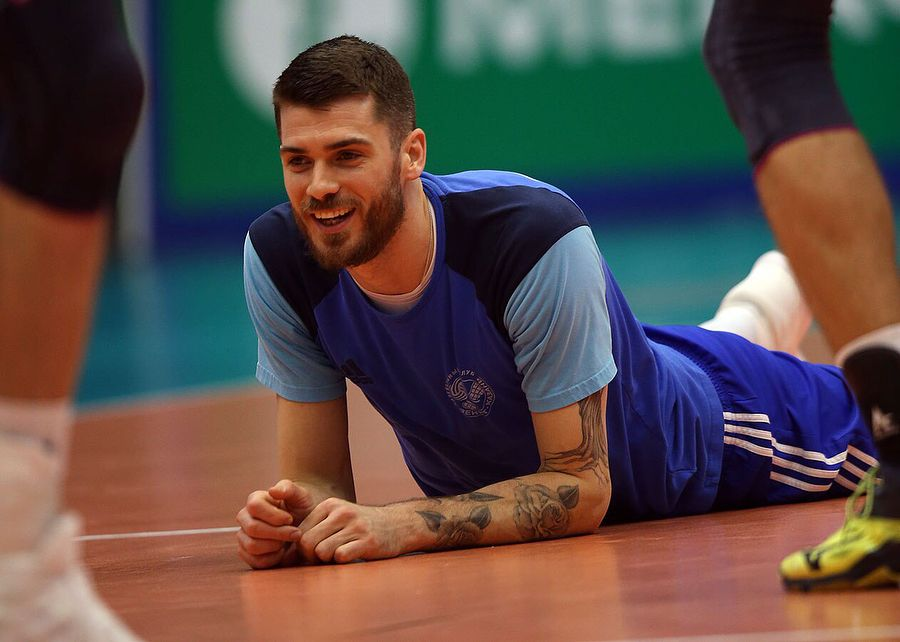 05apr2018 Volleyball Club Zenit Kazan Volleyzenit Su Instagram 10 Luchshih Kadrov S Predygrovoj Trenirovki Usa Volleyball Team Usa Volleyball Matt Anderson