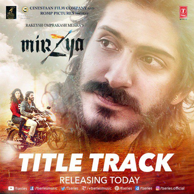 Mirzyatitletrack Harshkapoor To Romance Saiyamikher On Gulzarpoetry Dalermehndi Number Bollywood Movie Songs Mirzya Movie Mp3 Song Download