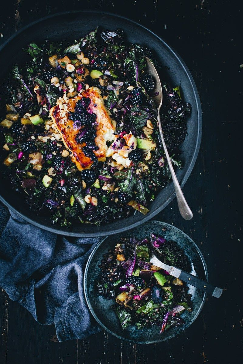 Start 2017 off right with these vibrant salad recipes that will have you glowing from the inside out.1. Purple Kale Blackberry andAubergine Salad               View the Original Post /...