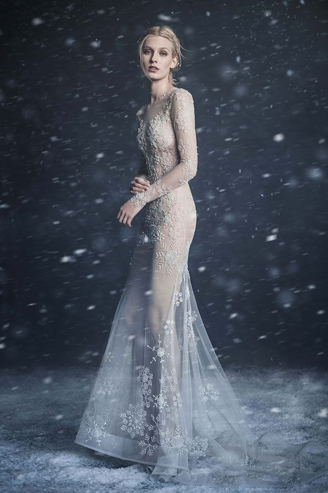 Paolo Sebastian 2016 Winter Couture Wedding Dress
