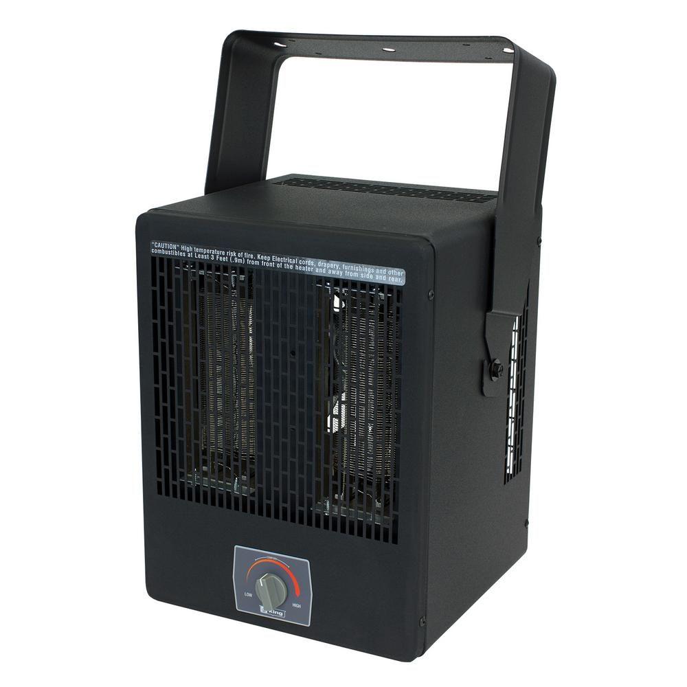King Ekb Garage Heater 240 Volt 3850 Watt With Thermostat And Bracket Garage Heater Shop Heater Home Depot